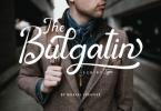 Bulgatin Font