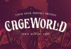 CageWorld - Game Font