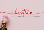 Chorettan Font