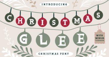 Christmas Glee Font