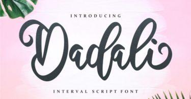 Dadali Font