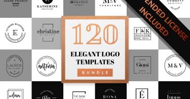 Elegant Logo Pack BUNDLE 1075798
