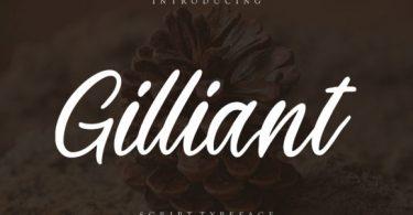 Gilliant Font