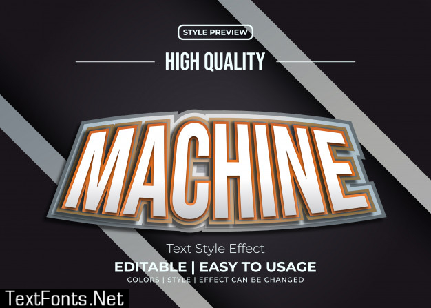 Gold and silver text style effect