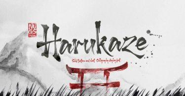 Harukaze Font