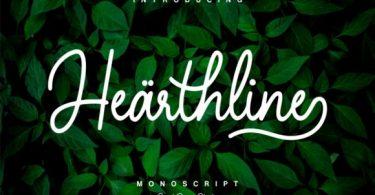 Hearthline Font