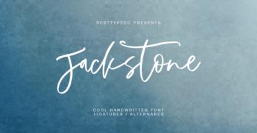 Jackstone Font
