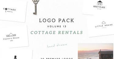 Logo Pack Volume 13. Cottage Rentals 3808998