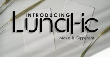 Lunatic Font