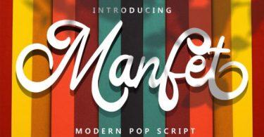 Manfet Font