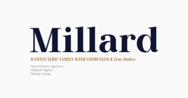 Millard Font
