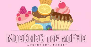Munching the Muffin Font