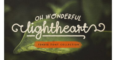 Oh Wonderful Lightheart Font