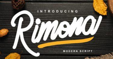 Rimona Font