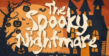 Spooky Nightmare Font