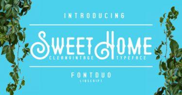 Sweethome Font