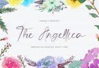 The Angellica - Modern Calligraphy Font