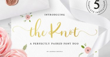The Knot Font