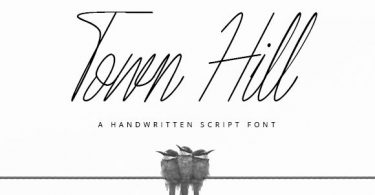 Town Hill Font