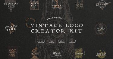 Vintage Logo Creator Kit 3263548