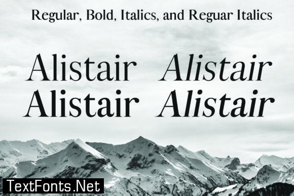Alistair Font