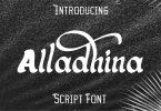 Alladhina Font