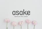 Asake Font