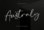 Australy Font