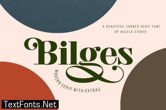Bilges Font