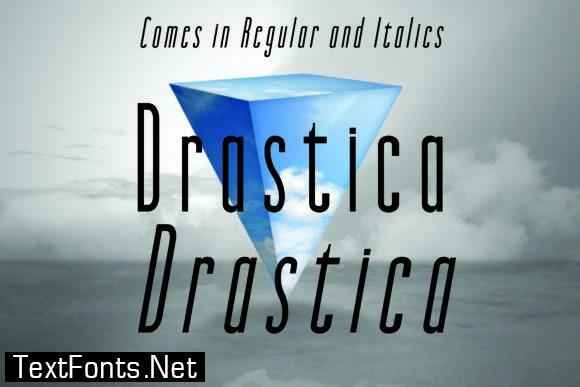 Drastica Font