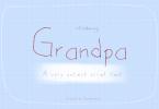 Grandpa Font