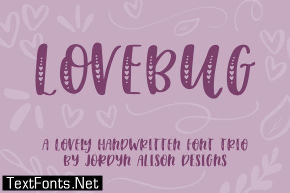 Lovebug Font