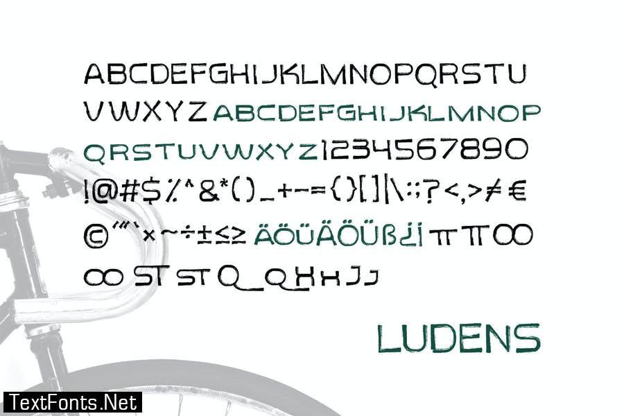 Ludens - Rough Sans