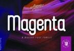 Magenta Family Font