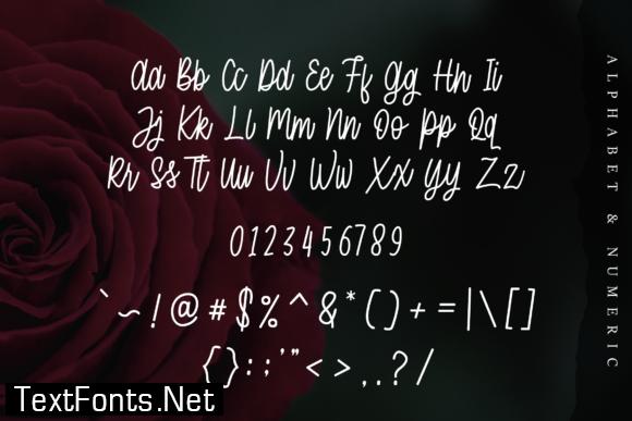 MoonBeam Font