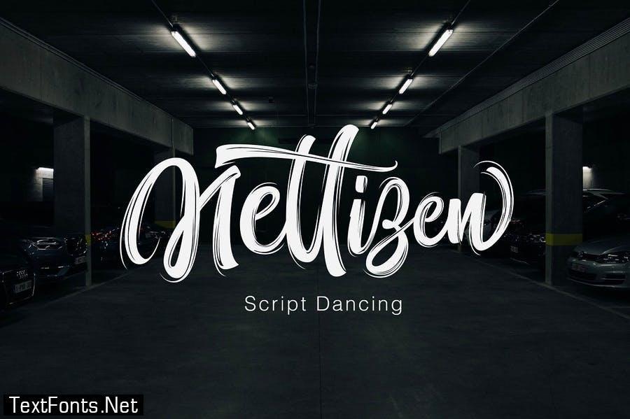 Nettizen - Modern Script
