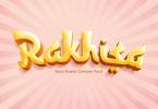 Rakhisa - cartoon faux arabic font