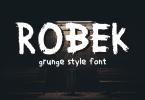 Robek Font