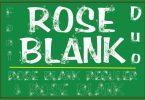 Rose Blank Font