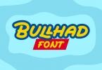 SBR Bullhad Font