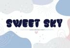 Sweet Sky Rotund Font JY9L58T