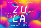 Zula Cotana Font