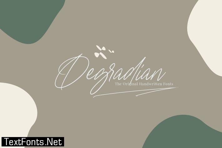Degradian - Handwritten Fonts