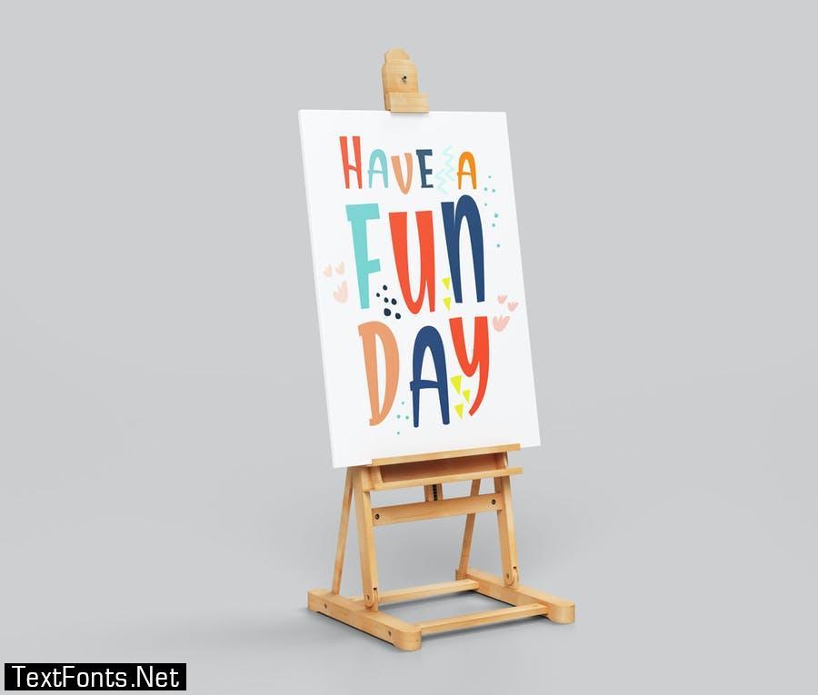 Good Day Fun Display Font