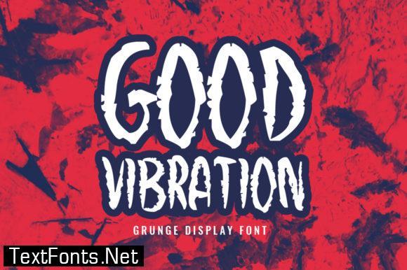 Good Vibration Font