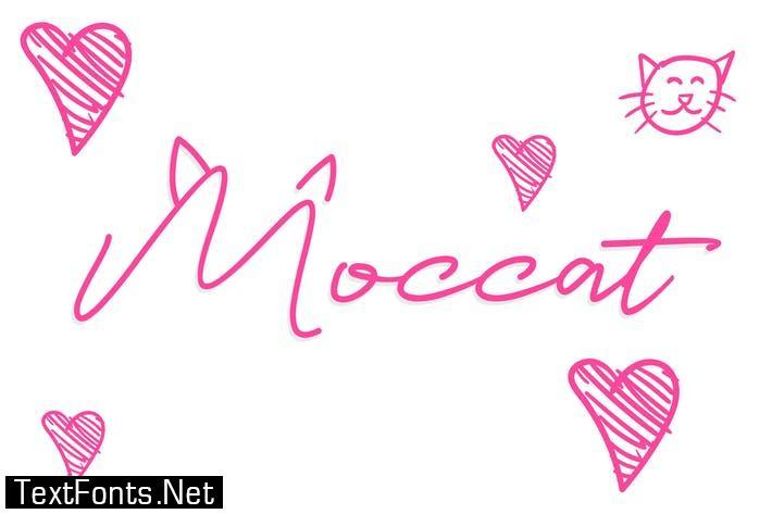 Moccat Font
