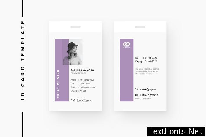 Creative ID Card Template 09