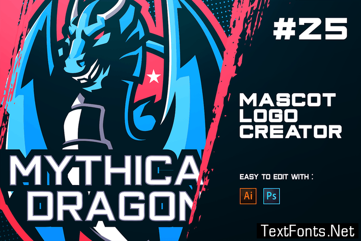 DRAGON - E-Sports Logo Creator