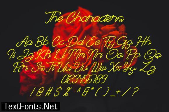 Khaira Script Font