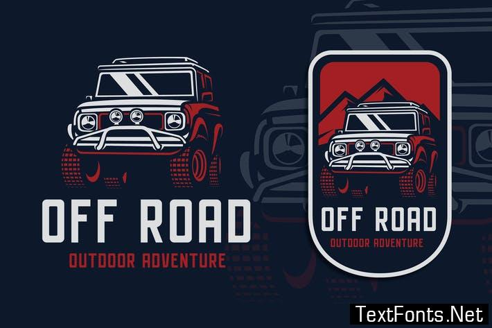Off Road Adventure Logo Template